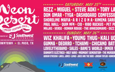 Neon Desert Music Festival Announces Full Lineup
