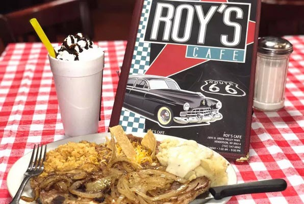 From Route 66 to Henderson, Roy's Cafe Debuts