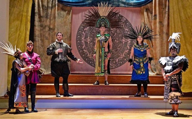 American Baroque Opera Company dramatized Mexican-American history with Vivaldi's 'Montezuma'
