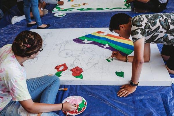 Pride Week Celebrated with Mural Unveilings