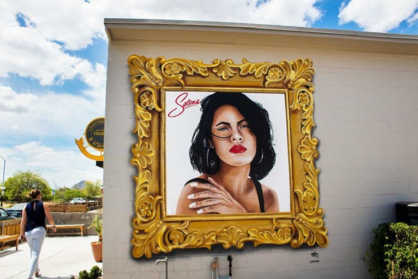 Tucson wishes Selena happy birthday with new mural