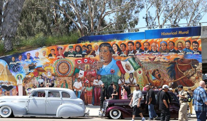UCSD Library Celebrates Chicano Park Day Celebration