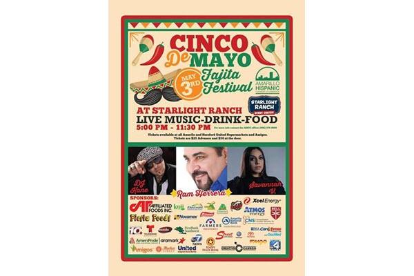 Amarillo Hispanic Chamber of Commerce and Starlight Ranch hosting Cinco de Mayo Fajita Festival