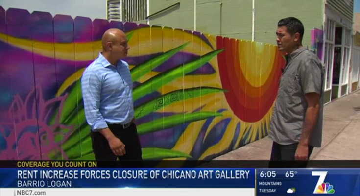 Rent Increase Forces Closure of Chicano Art Gallery