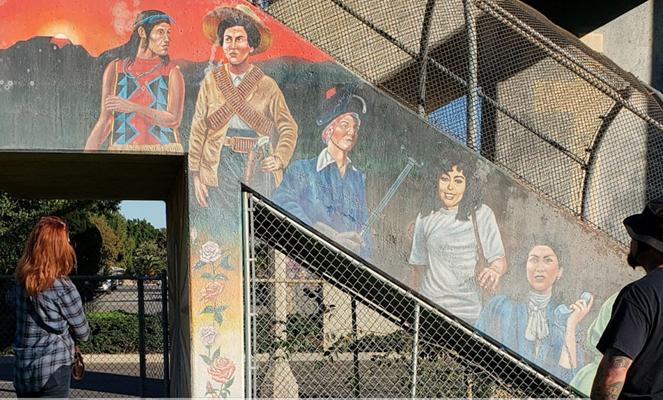 Son of Famed Chicano Artist to Begin Restoration of Lemon Park Mural