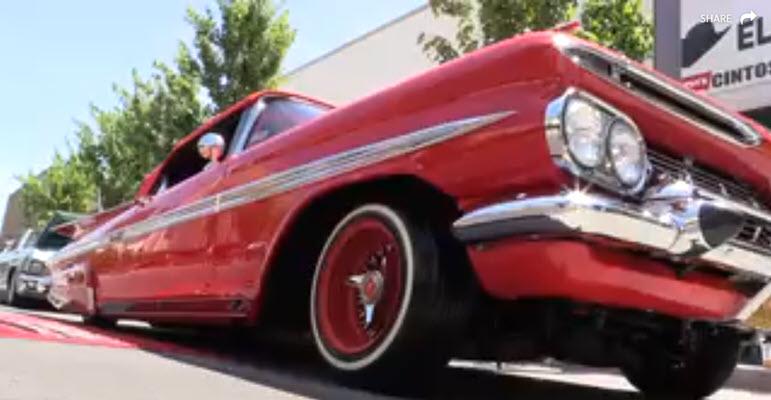 Fresno Grizzlies host lowrider car show along Fresno's Fulton Street