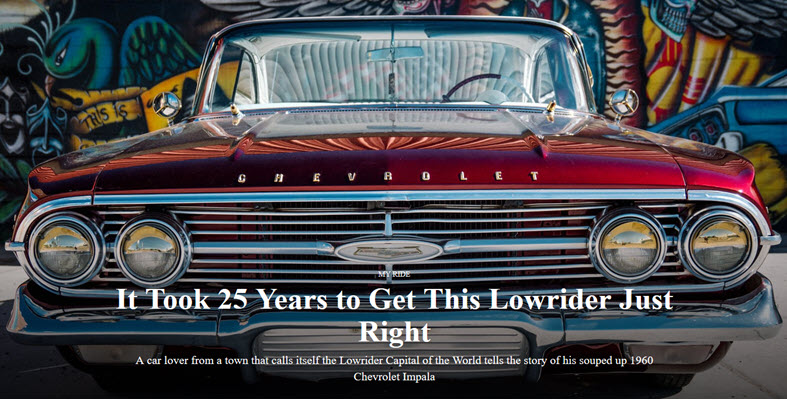 It Took 25 Years to Get This Lowrider Just Right