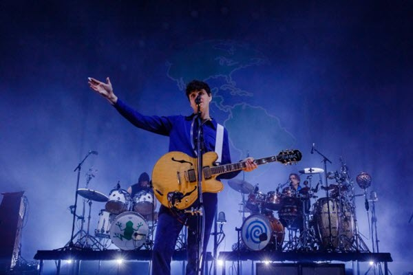 Vampire Weekend played Chicago with Chicano Batman