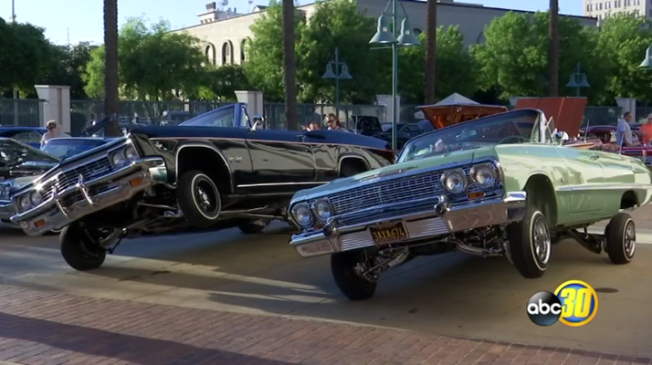 Latino Life: Lowriders Center Stage In Downtown Fresno