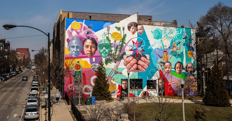 Chicago's murals and mosaics