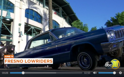 Lowriders Center Stage In Downtown Fresno