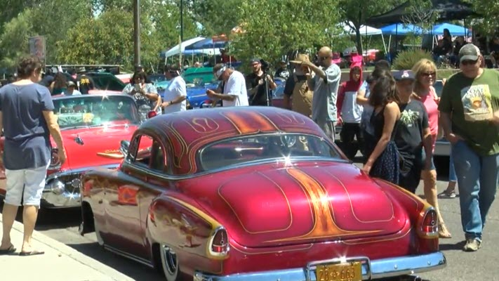 Lowrider enthusiasts unite at Tiguex Park