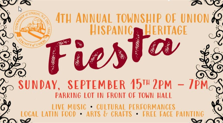 Union's 4th Annual Hispanic Heritage Celebration Set for Sept. 15