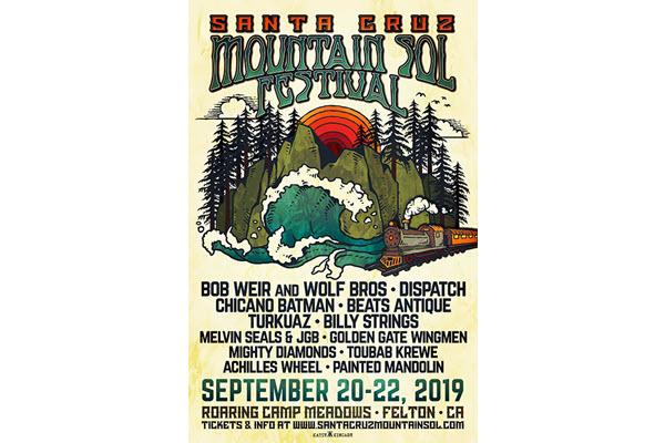 Santa Cruz Mountain Sol Festival Adds Dispatch, Melvin Seals & JGB to 2019 Lineup