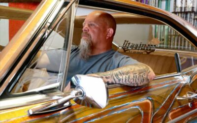 Rich Montanez rebuilds family car into lowrider
