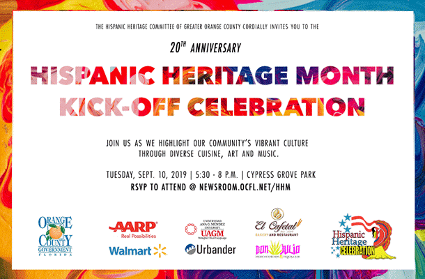 Orange County Florida Celebrates Hispanic Heritage Month 2019