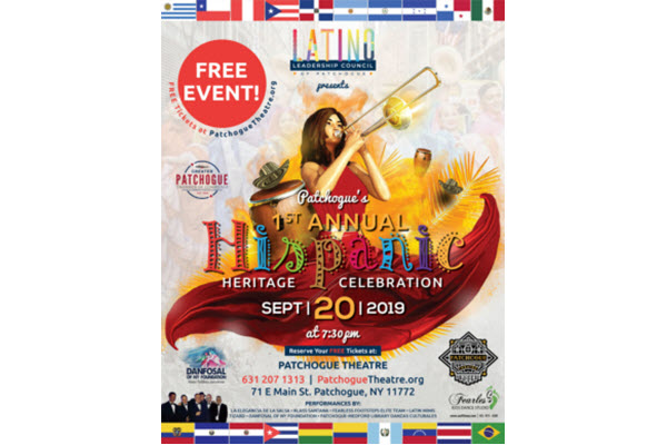 Greater Patchogue Chamber's Latino Leadership Council Announces 1st Annual Hispanic Heritage Celebration