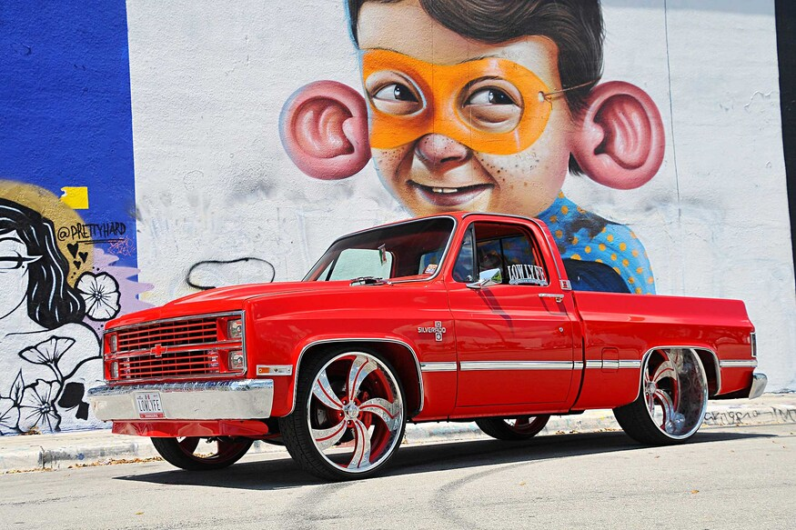 What Makes This Custom 1984 Chevy C10 One of the Baddest Trucks in South Florida