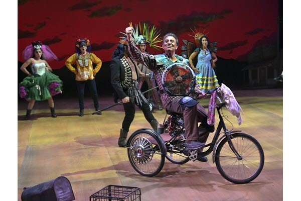 'Quixote Nuevo' ushers in a brave new world at Hartford Stage
