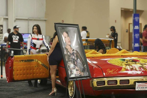 'Selena car' among the attractions at San Antonio's Lowlow Carshow