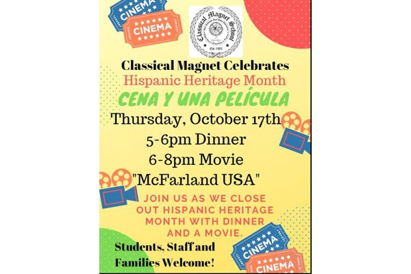 Classical Magnet Celebrated Hispanic Heritage Month