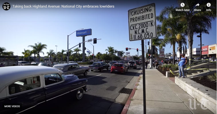 Taking back Highland Avenue: National City embraces lowriders