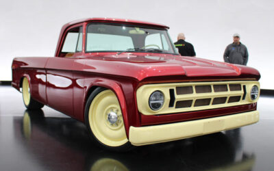 1968 Dodge D200 'Lowliner' adds low-down diesel torque to a lowrider