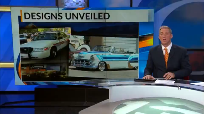 APD shows off lowrider design contest entries