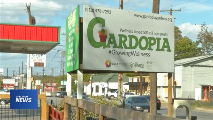 "San Antonio Garden Sets Out to Eliminate ""Food Swamps"""
