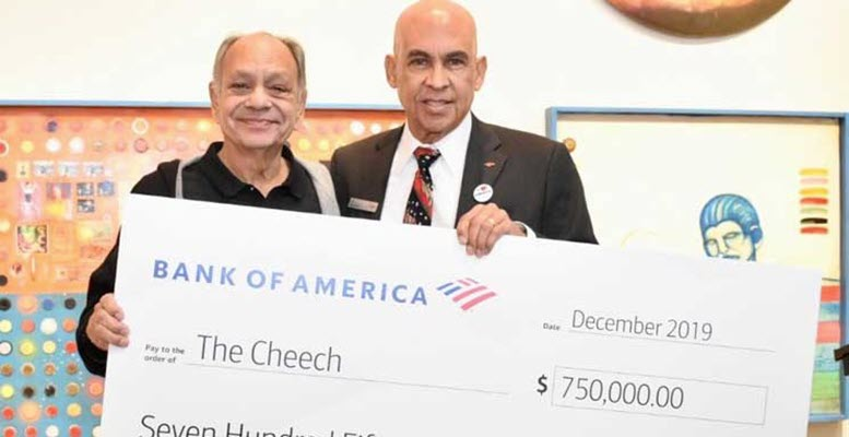 Bank of America Invests $750,000 to Cheech Marin Center for Chicano Art