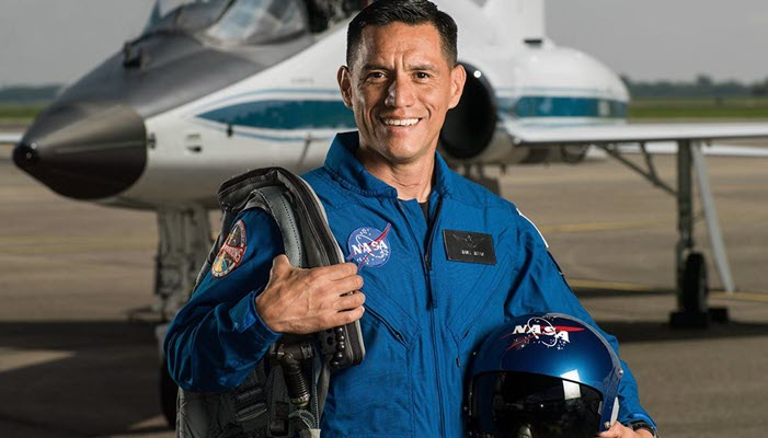 Frank Rubio, the first Latino who could set foot on Mars in 2033