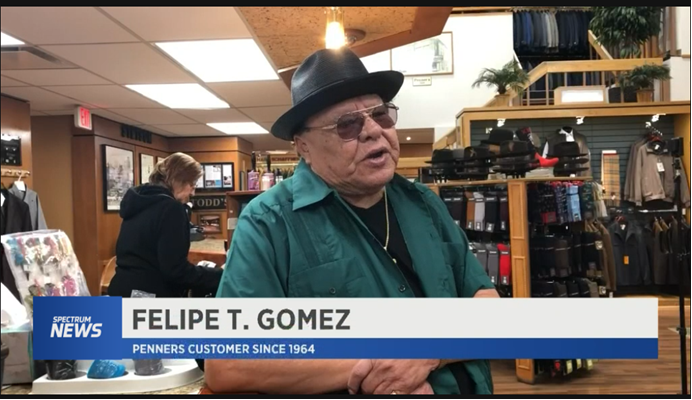 Penners Boutique, 103 Years Old A Place For Chicanos To Shop, In San Antonio